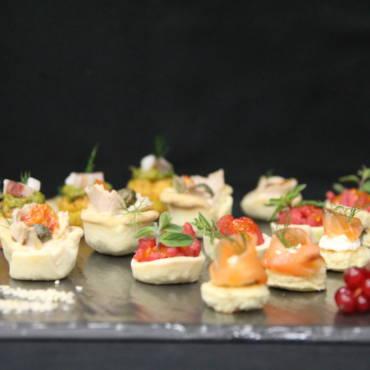 Finger Food , Primi e Secondi Piatti e Dessert